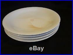 Noritake China Sea Gems Set of 4 Dinner Plates Sea and Sky #B137