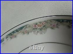 Noritake China Set Enhancement Pattern Beautiful 40 PC Set Service For 8 NIB