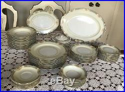 Noritake China Set Made In Occupied Japan 53 Pieces -Antique Vintage