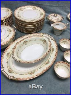 Noritake China Set Made in Occupied Japan 92 Pieces Stock # G 541