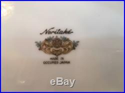 Noritake China Set Rare Ro6 Rose Pattern