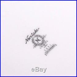 Noritake China Set Savannah 2031 Platinum Rim 12 Place Settings 82 pieces