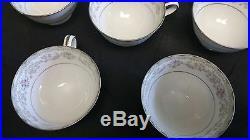 Noritake China Set for 12 Edgewood Pattern, 12 piece setting, 9 coffee cups