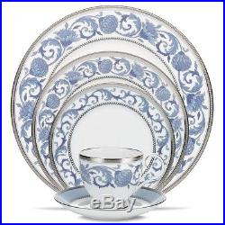 Noritake China Sonnet In Blue 60Pc China Set, Service for 12