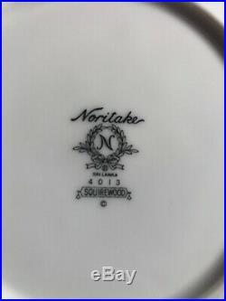 Noritake China Squirewood Eight Place Settings / 40pcs & Creamer Nice