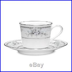 Noritake China Sweet Leilani After Dinner Cups & Saucers, Set of 4