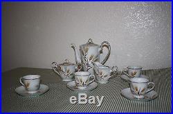 Noritake China Tea Set Wheaton pattern