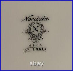 Noritake China Vienne Pattern #6885 12 Piece Plate Set
