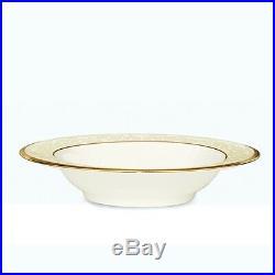 Noritake China White Palace Fruit/Dessert Bowls, Set of 4