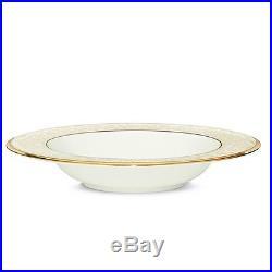Noritake China White Palace Soup Bowls, Set of 4