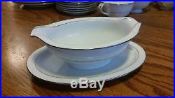 Noritake China Whitehall 55-Piece Set White Flower Basket 45%+ off Retail Value