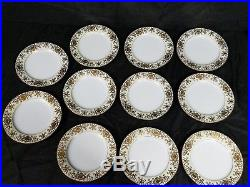 Noritake Christmas Ball #175 48 Piece 8 Setting Hand Painted Gold Fine China Set