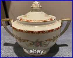 Noritake Claudette Rare Vintage 70 Piece China Set