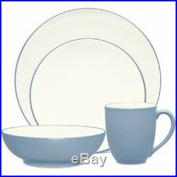 Noritake Colorwave Ice Coupe 48Pc Dinnerware Set, Service for 12