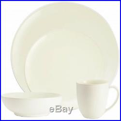 Noritake Colorwave White Coupe 32Pc Dinnerware Set, Service for 8