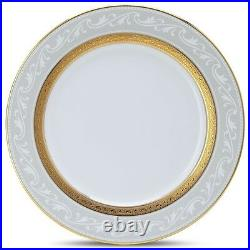 Noritake Crestwood Gold Accent Plates, Set of 4