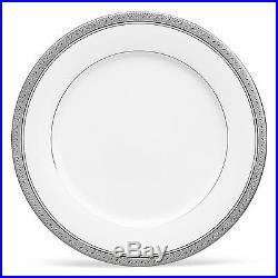 Noritake Crestwood Platinum Dinner Plates, Set of 4