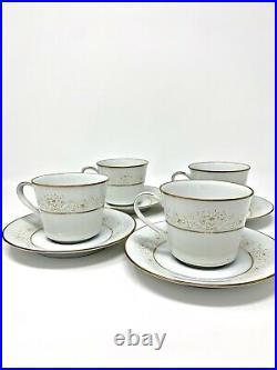 Noritake DEAREST 2034 Contemporary Fine China 21 Pc Set Plates, Bowls, Cups