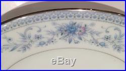 Noritake Dinner Service China Tea set 12 Person Blue Hill Plates Bowls Tea cups
