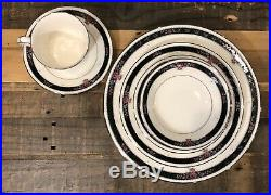 Noritake Etienne Ivory Fine China Service for 10 60 Piece Set Flawless