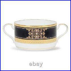 Noritake Evening Majesty Cream Soup Cups, Set of 4