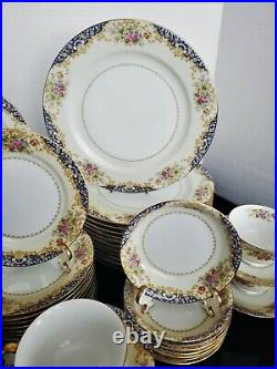 Noritake Fine China 60 PC Dinnerware Set Pattern # N4364 RARE