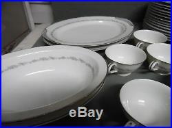 Noritake Fine China Crestmont #6013 80 Pc Set