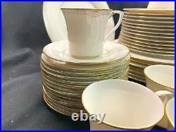 Noritake Fine China Golden Cove Dinnerware Set of 43! Excellent