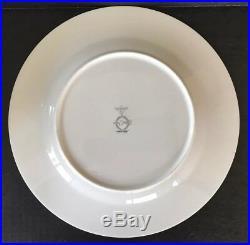 Noritake Fine China Golden Lily 7733 Dinner Plates 10 5/8 Set Of 8