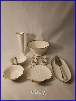 Noritake Gold And Platinum Collection 10 Pc Set Fine China From Japan