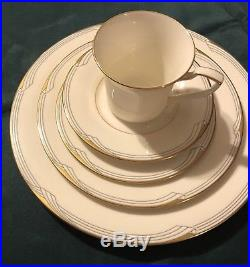 Noritake Golden Cove China 67 pieces including 12 full place settings