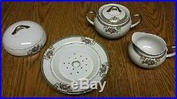 Noritake Grasmere vintage dinner set Japan Fine China Service for 10