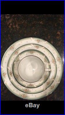 Noritake Greenbrier China 12 place setting