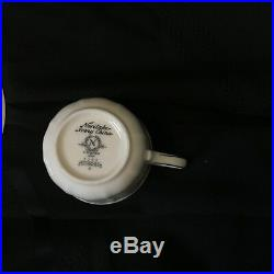 Noritake Ivory 7293rothschild China# 7293 80pc 16 Place Setting