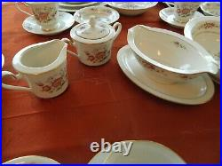 Noritake Ivory China #7151 Asian Song Set for (12) with (7) Serving Pieces 3-5