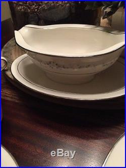 Noritake Ivory China 8 Piece Set Heather 7548 Made In Japan