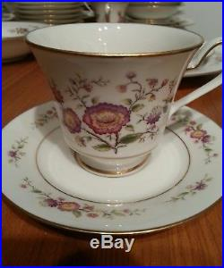 Noritake Ivory China Asian Song Svc for 12 + Extras, RARE SET