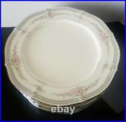 Noritake Ivory China Rothschild Salad Plate Set of 12