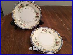 Noritake Japan CASINO China Set of 4 Bread Plates 6 1/2