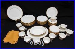 Noritake Japan Ivory China Victory Setting 55 Complete Set 10 Plates Teacups
