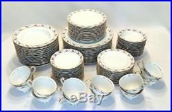 Noritake Japan Maywood 5154 Estate 84 pc China Set Serving for 12 Mid Century