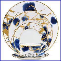 Noritake Jubilant Days Gold 60Pc China Set, Service for 12