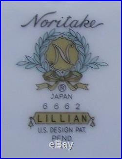 Noritake Lillian China Set Near Mint Condition 44 Pieces For 8