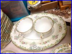 Noritake -M-Dinner Set Made In Occupied Japan China Set Great Cond- 101 pieces