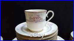 Noritake Magnificence Lovely Fine China 65 Piece Set of 13 Place Settings #9736