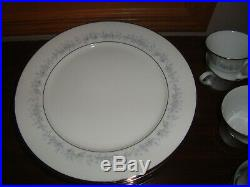 Noritake Marywood 2181 63 Pieces China Set of 12 + 3 Serving Dishes