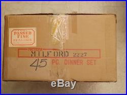Noritake Milford China 45 Piece Set Service For 8 Plus 5 Serving Pieces Bnib