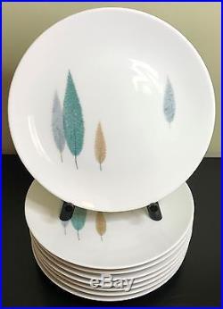 Noritake Namiki Salad Plate Set of 8 Vintage Cook'n Serve China 108 Japan