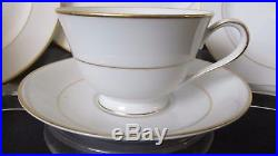 Noritake Nippon China, 10 Place Settings, with Serving Pieces, Gold Trim