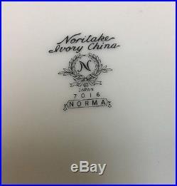 Noritake Norma Ivory China 42 Piece Service Set for 6 (Japan)